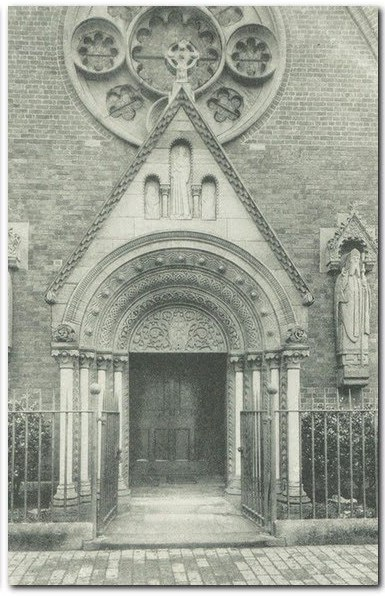 The old church porch