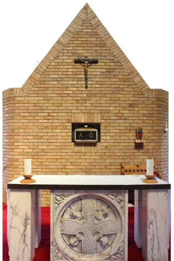 St Mary's RC Rhyl Altar