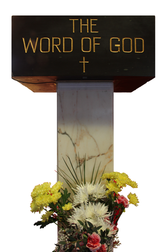 St Mary's Rhyl Lectern